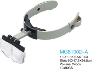 Head Wear Working Magnifier with Four Lens pictures & photos