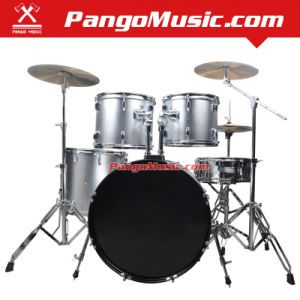 5-PC Professional Silver Drum Set (Pango PMDM-850) pictures & photos