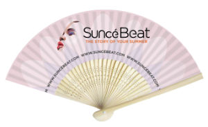 Double Sides Printing Bamboo Paper Hand Fans pictures & photos