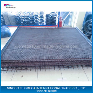 65mn Crimped Wire Mesh for Vibrating Screen pictures & photos