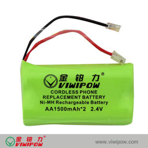 Newly Design Rechargeable Cordless Telephone Ni-MH Battery Pack (VIP-AA1500)