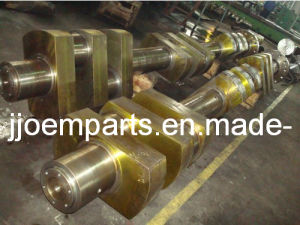 AISI 8620 (20NiCrMo2-2, AISI 8620H) Forged/Forging Crankshafts/Eccentric Shafts/Crank Shafts pictures & photos