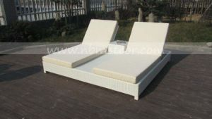 Mtc-403 Rattan Patio Furniture Outdoor Wicker Chaise Sun Lounge Bed pictures & photos