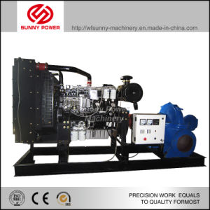 Diesel Engine Water Pump 40HP 360m3/H Lift 8m for Irrigation pictures & photos