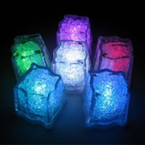 Custom Flashing Glow Ice Cube with Logo Printed (3188) pictures & photos