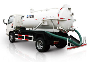 High Pressure Vacuum Sewer Cleaner Suction Sewage Truck pictures & photos