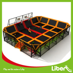 Liben Suppliers Indoor Trampoline Court with Basketball Hoop pictures & photos