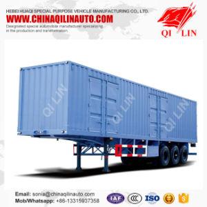 Box Van Truck Semi Trailer or Van Semi Truck Trailer pictures & photos