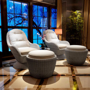 Leisure Single Sofa Rattan Sofa Outdoor Leisure Garden Sofa (S102) pictures & photos