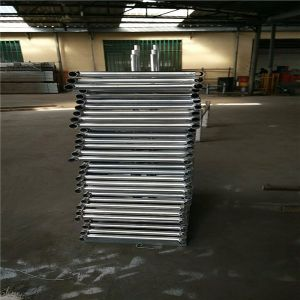 6′x12′ Mesh Opening 57mm X 57mm Chain Mesh Temporary Fencing Panels pictures & photos