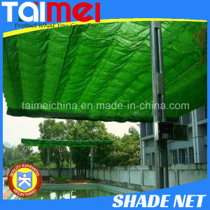 60~350GSM HDPE Knitted Green/Beige/Other Color Shade Sail pictures & photos