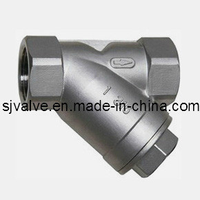 Stainless Steel 304 Y Type Strainer pictures & photos