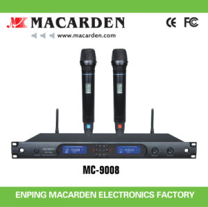 Long Working Distance Dual Channel Wireless Microphone (MC-9008)