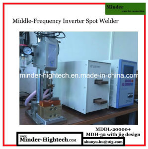 Finger Protected Manual Spot Welding Machine pictures & photos