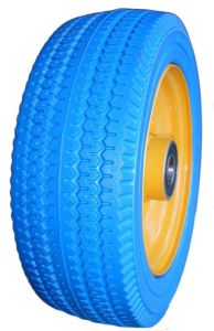 "10"" PU Foam Wheel, PU - Polyurethane Wheel pictures & photos"