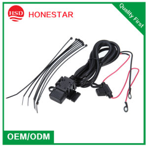 Motorbike Dual USB 5V 2.1A USB Charger for Mobile Phone pictures & photos