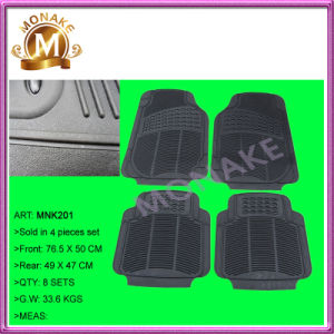 Auto Accessory Full Set Car Mat for Car/Truck (MNK201) pictures & photos