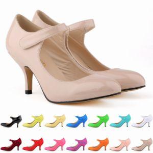 MID-Heels Lady Women Shoes