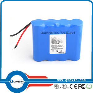 Protected 18650 Li Ion Battery 11.1V 9300mAh Rechargeable Battery pictures & photos