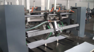 Web Flexo Printing and Cold Gluing Binding Production Line for Notebook Exercise Book Diary Student pictures & photos
