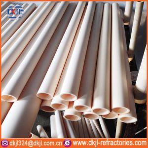 Industrial Heat Resistant Large Diameter Purity 99% High Alumina Ceramic Tube pictures & photos