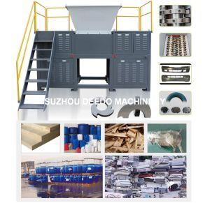 Shredder Machine for Plastic Bags pictures & photos