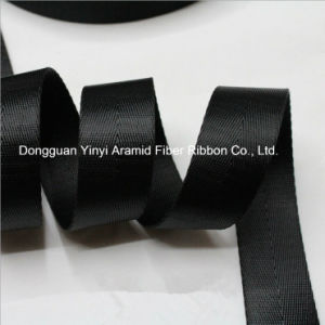 Black Nylon 20-50mm Herringbone Backpack Belt Webbing pictures & photos