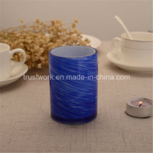 American Hospitality Handblown Glass Candle Holders pictures & photos