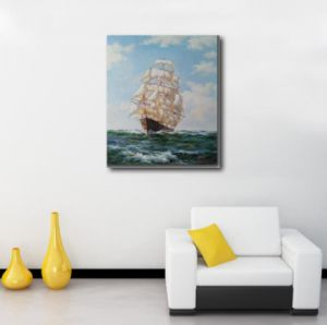 Oil Painting Reproduction of Sailing Vessel pictures & photos