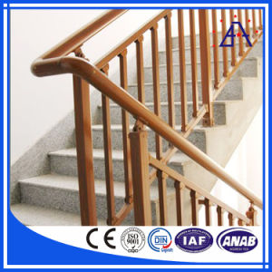High Quality 6063-T5 Aluminum Handrail (AR-006) pictures & photos