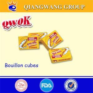 Qwok Halal Crevette Bouillon Cube Shrimp Seasoning Cube Crayfish Stock Cube