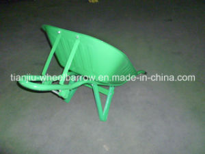 Nigeria Strong Wheelbarrow Wb6200-2 pictures & photos