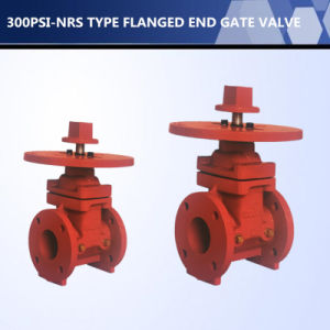 UL FM Listed 300psi Nrs Type Flanged End Gate Valve pictures & photos