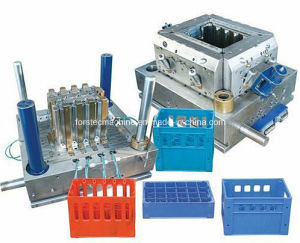 ABS Single Cavity Plastic Basket Injection Mould pictures & photos