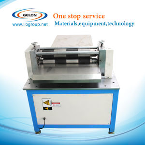 600mm Width Semi-Automatic Slitting Machine for Lithium Ion Battery Electrode Sheet pictures & photos