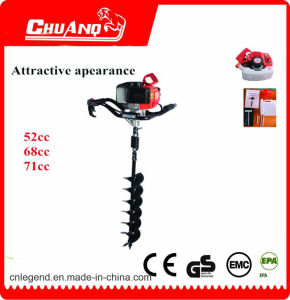 Gasoline Single Cylinger Earth Auger Drill Bits with Soil or Ice pictures & photos