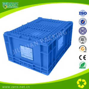 Plastic Storage Moving Crates for Cargo and Transport pictures & photos