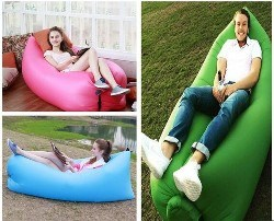 Outdoor Laybag Lazy Sleeping Air Bag Lounger Sofa Bed Air-Filled Bean Bag pictures & photos