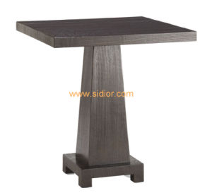 (CL-5521) Luxury Hotel Restaurant Public Furniture Wooden Coffee Table pictures & photos