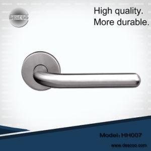 Door Handle/Stainless Steel Tube Lever Handle for Doors (HH007)