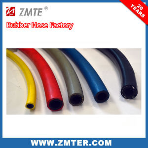 High Working Pressure Red Yellow Blue Black Grey Rubber Air Hose pictures & photos
