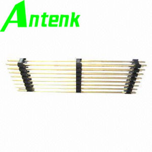 2.54mm Pitch in Triple Row 2 X 8p Straight Type Gold Flash RoHS Mark Pin Header pictures & photos