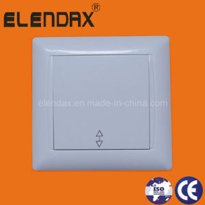 EU Style Flush Mounting Two Way Wall Power Switch (F6005) pictures & photos