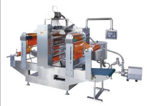 Different Flavor Ice Lolly Four-Side Sealing Packing Machine pictures & photos