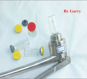 10ml Glass Vials + 20mm Rubber Stopper + Flip off (caps) + Crimpers pictures & photos