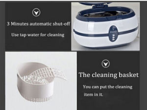 Waterproof Watch Ultrasonic Cleaner pictures & photos