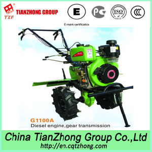 Portable Farm &Gardon Use Tiller Cultivator (G1100C/G1100D)