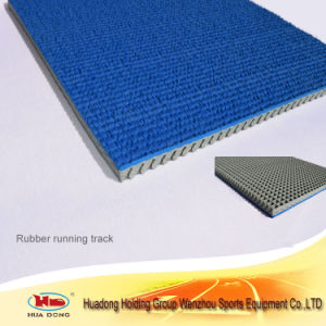 Vulconized Rubber Flooring Competition Running Track pictures & photos