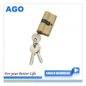High Quality 60 mm Brass Key Cylinder (AG-C17)