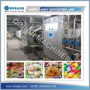 PLC Control&Full Automatic Depositing Machine for Hard Candy pictures & photos
